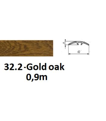 32.2 gold oak