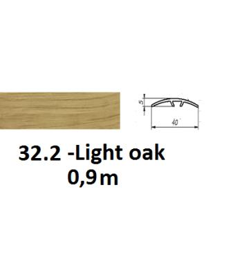 32.2 light oak