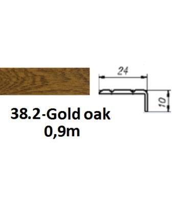 38.2 gold oak