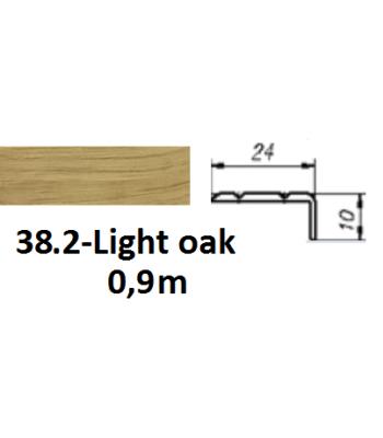 38.2 light oak