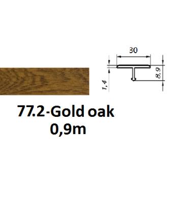 77.2 gold oak
