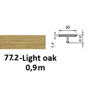 77.2 light oak
