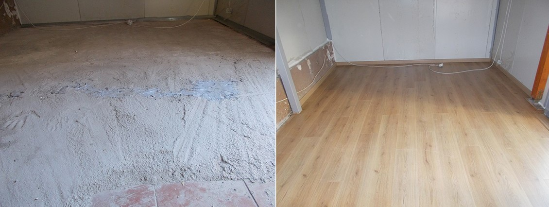 Πάτωμα 8μμ χωρίς αρμό