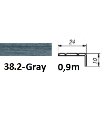 38.2 gray