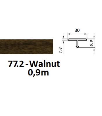 77.2 walnut